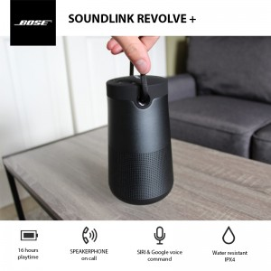 Soundlink Revolve plus spec